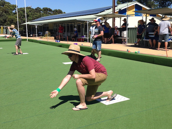 Barefoot Bowls Fun Event For Team Building Corporate