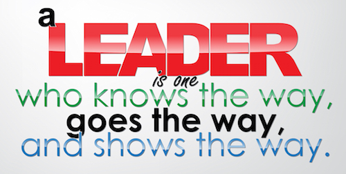 A Leader Shows The Way Quote