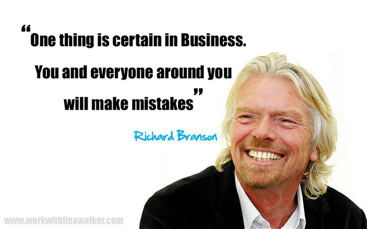 Leaders Making mistakes quote