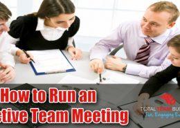 How to Run an Effective Team Meeting