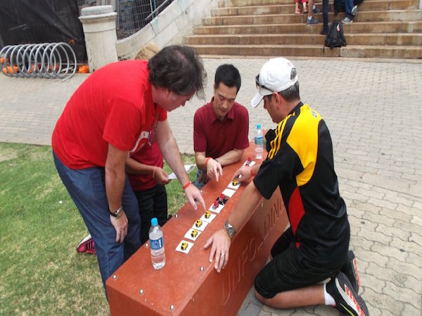 Amazing race team challenges for adults everything