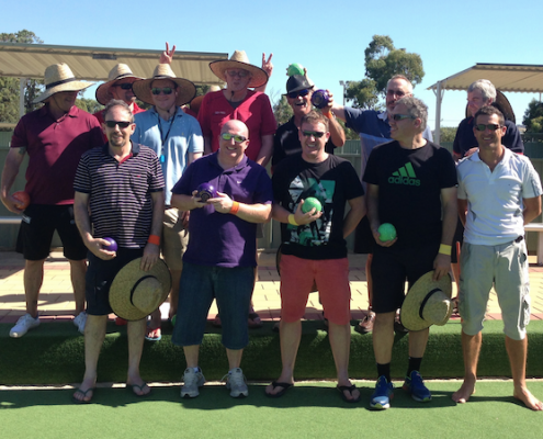 barefoot bowls event