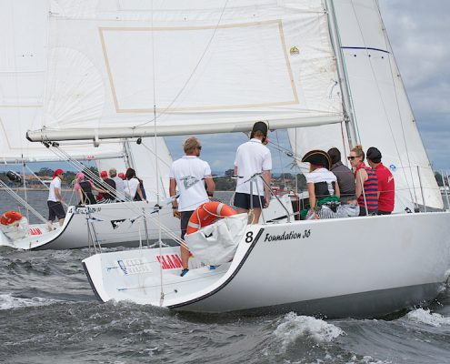 Sailing Team Building Activity