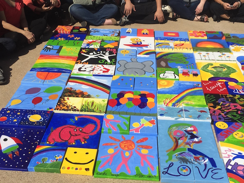 Team Building Painting Activities