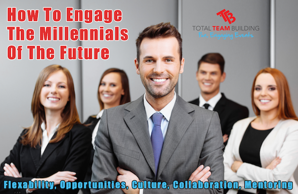 How to engage millenials workers through team building