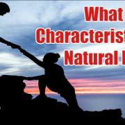 Characteristics of Natural Leader
