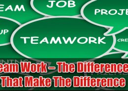 team work the differences that make the difference