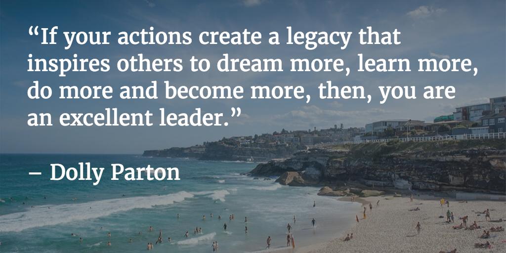 excellent leader quote