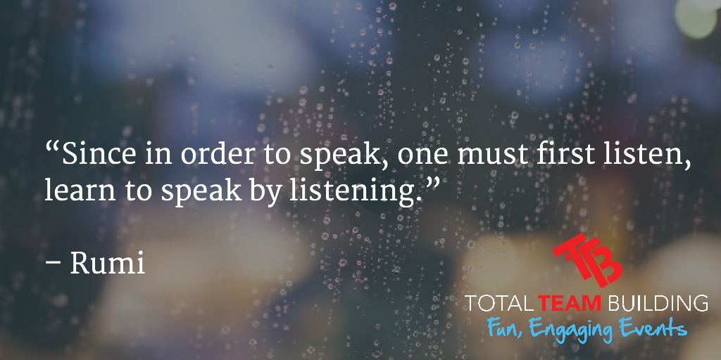 learn to speak by listening quote