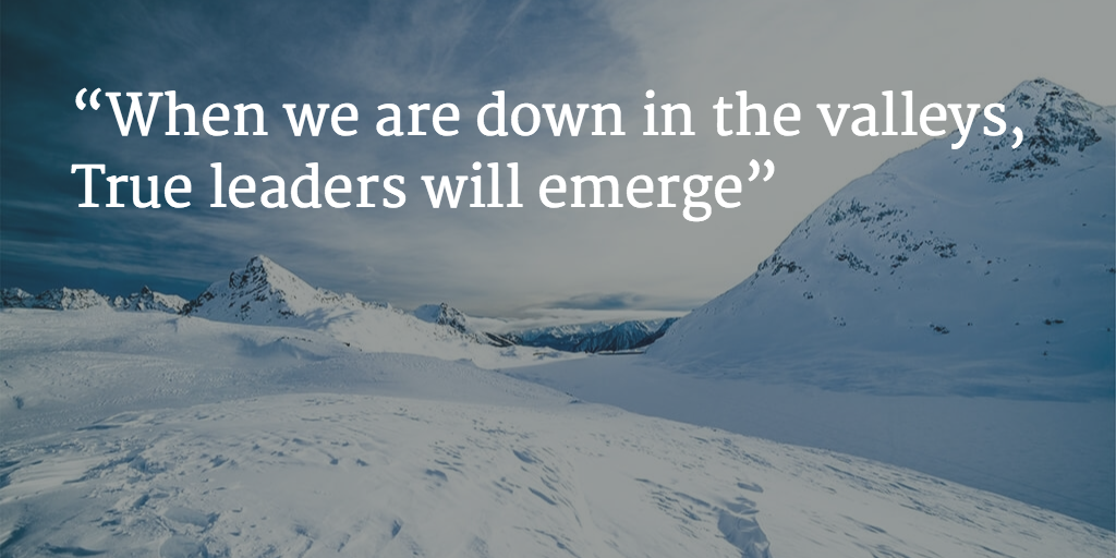 true leaders emerge quote