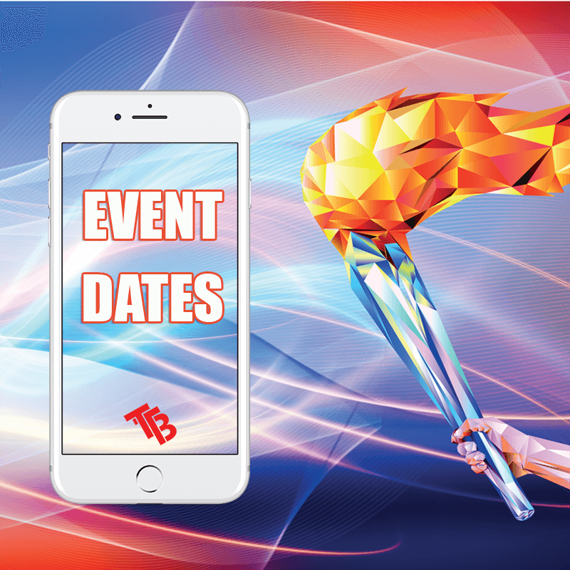 Corporate Games Event Dates